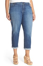 Plus Size Women's Kut From The Kloth 'Catherine' Stretch Slim Boyfriend Jeans Savior