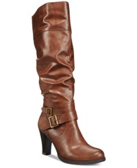 Styleandco. Style Co. Rudyy Boots Only At Macy's Women's Shoes Brown