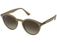 Ray Ban Rb2180 49Mm Dove Gray Brown Gradient Fashion Sunglasses