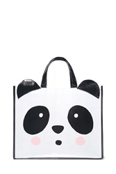 Forever 21 Glossy Panda Eco Tote