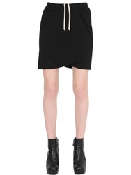 Rick Owens Drkshdw Drawstring Cotton Jersey Shorts
