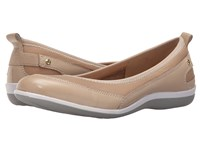 Revere Charlotte Taupe Mesh Women's Flat Shoes Gray