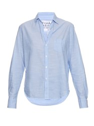 Frank And Eileen Cotton Chambray Shirt