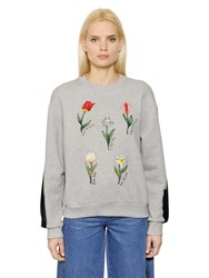 Steve J And Yoni P Embroidered Cotton Sweatshirt