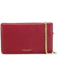 Marc Jacobs 'Perry' Wallet Crossbody Bag Red