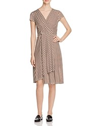 Tory Burch Kelsey Graphic Wrap Dress Arbor Ravenna