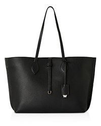 Whistles Regent Soft Tote Black