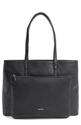 Matt And Nat 'Wes' Vegan Leather Tote Black