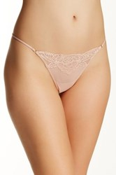 Wacoal Sheer Enough G String Beige