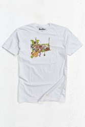 Urban Outfitters The Muppets Painting Tee White