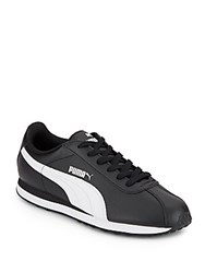 Puma Turin Faux Leather Sneakers Black