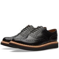 Grenson Stanley Brogue Black