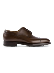 Crockett Jones Crockett And Jones 'Dorking' Derby Shoes Brown