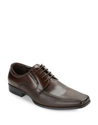 Kenneth Cole Reaction Public P Review Bicycle Toe Oxfords Brown