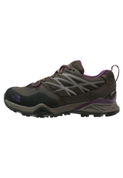 The North Face Hedgehog Hike Gtx Hiking Shoes Weimaraner Brown Black Currant Purple