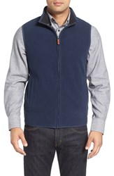 Nordstrom Men's Men's Shop Polar Fleece Vest Navy Iris