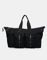 New Look Twin Pocket Holdall Black