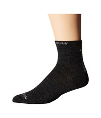 Pearl Izumi Elite Wool Sock Black Men's Crew Cut Socks Shoes