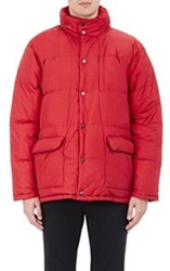 Aspesi Quilted Puffer Jacket Red