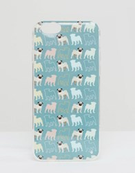 Signature Iphone 6 Case In Pug Print Grey