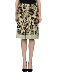 I'm Isola Marras Knee Length Skirts Beige