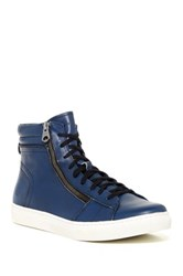 Andrew Marc New York Remsen High Top Zip Sneaker Multi