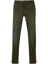 Closed Slim Fit Chinos Green