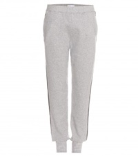 Tomas Maier Cotton Track Pants Grey