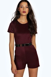 Tall Betty Short Sleeved Playsuit