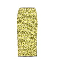 Rag And Bone Viola Cotton And Wool Boucle Skirt Yellow