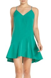 Chelsea 28 Women's Chelsea28 Drop Waist Dress Green Enamel