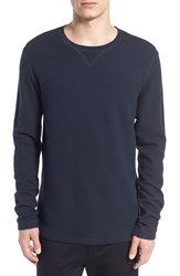 Men's Vince Racking Stitch Long Sleeve Thermal T Shirt