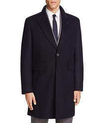 Hardy Amies Notch Coat Navy