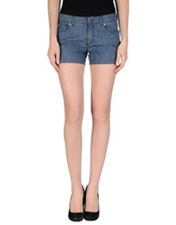 Trussardi Jeans Denim Shorts Blue