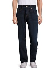 True Religion Whiskered Cotton Jeans Block Out
