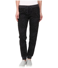 Converse Printed Knit Pant Phantom Women's Casual Pants Gray