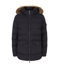 Pyrenex Authentic Smooth Puffer Jacket Female Navy