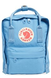 Fjall Raven Fj Llr Ven 'Mini K Nken' Water Resistant Backpack Blue Air Blue