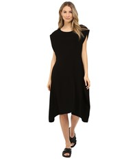 Limi Feu Satin Crepe Sleeveless Dress Black
