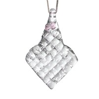 Crystal Forms By Jamal J. Ifill Ah Gem Pendant Silver