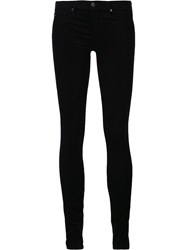 Ag Jeans Skinny Fit Corduroy Trousers Black