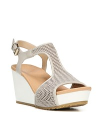 Dr. Scholl's Original Collection Wiley Wedge Sandals Bone