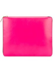 Comme Des Garcons 'New Super Fluo' Ipad Case Pink And Purple