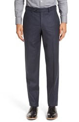 Ted Baker Men's London 'Frobisher' Flat Front Solid Wool Trousers