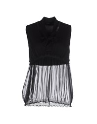 Pianurastudio Topwear Tops Women Black