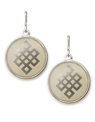 Alex And Ani Endless Knot Necklace Charm Silver