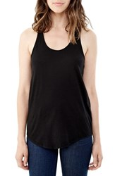 Alternative Apparel Women's Alternative Racerback Cotton Tank Black