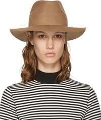 Harmony Brown Wool Fedora