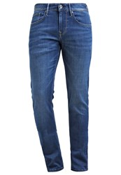 Pepe Jeans Finsbury Relaxed Fit Jeans I48 Dark Blue
