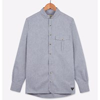 Realm And Empire Chambray Penny Collar Shirt